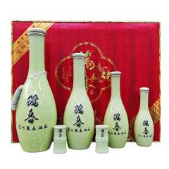 53度筑春熊猫酒(步步高升)酱香型白酒 高度白酒礼送宴客礼盒装酒