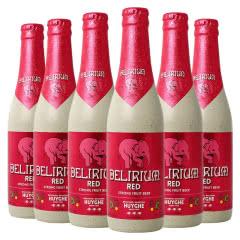 比利时进口粉象水果味精酿啤酒330ml(6瓶)