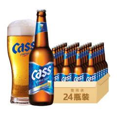 4.5度凯狮(CASS)韩国原装进口啤酒330ml(24瓶)