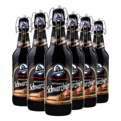 4.9度德国原瓶进口猛士黑啤酒精酿啤酒500ml(6瓶)