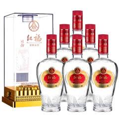 五粮液生态酿酒公司 红福精品52度浓香型白酒 500ml*6整箱