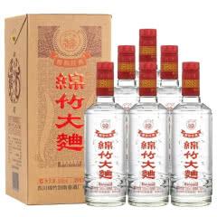 52°剑南春绵竹大曲盒装醇和经典白酒500ml*6瓶整箱装(送3个礼品袋)