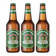 公鹿王德式小麦精酿啤酒330ml(3瓶)