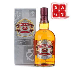40°芝华士12年(Chivas Regal)洋酒 苏格兰调配型威士忌700ml