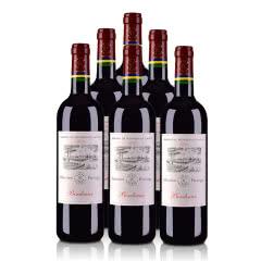 法国拉菲罗斯柴尔德尚品2018波尔多法定产区红葡萄酒750ml*6红酒整箱