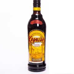 20°墨西哥(Kahlua)甘露咖啡力娇酒 进口洋酒利口酒鸡尾酒甜酒基酒700ml