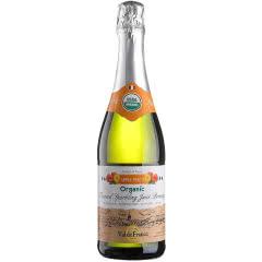 沃迪安无醇无酒精起泡酒法国原瓶进口苹果汁甜型含气果酒750ml单支装 蜜桃味