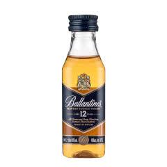 40°英国百龄坛12年苏格兰威士忌50ml(小酒版)