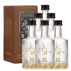 老酒 水井坊 典藏版 52度 小酒版  2019年 50mlx6瓶