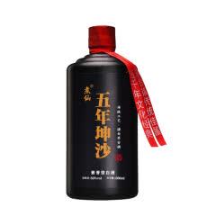 53°煮仙 五年坤沙酒 酱香型白酒 贵州茅台镇 纯粮食酒 固态发酵 整箱500ml单瓶