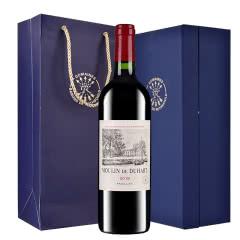 拉菲法国原瓶进口红酒 罗斯柴尔德 拉菲杜哈磨坊副牌干红葡萄酒礼盒装750ml