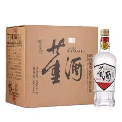 董酒 54度 白标 董香型白酒 430mlx6瓶