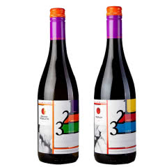 摩尔多瓦原瓶进口红酒 慕斯卡黛干红半干红葡萄酒750ml*2