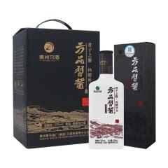 53°茅台集团 习酒 方品习酱 酱香型白酒500ml*4瓶礼盒装