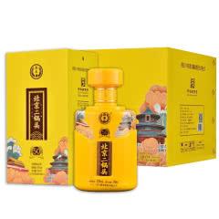 永丰牌北京二锅头42度 清香型白酒(中国印)整箱装黄瓶500ml*6瓶