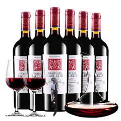 拉斐庄园特藏2003原酒进口干红葡萄酒醒酒器装 750ml*6瓶